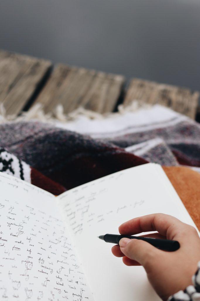 dbanie o siebie na co dzień - pisanie